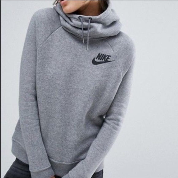 "Nike Jackets & Blazers - Nike ""Rally Funnel Neck"" Sweatshirt"